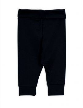 Mini Rodini Basic baby legging black