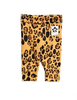 Mini Rodini Basic Leopard baby legging