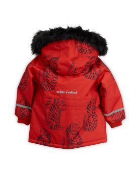 Mini Rodini Tiger K2 Parka Red