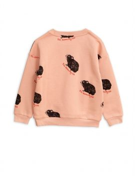 Mini Rodini Guinea Pig Sweatshirt Pink