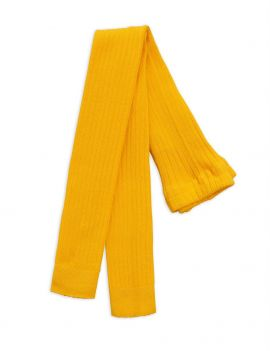 Mini Rodini Ribbed legging yellow