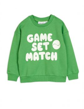 Mini Rodini Game Sweatshirt Green