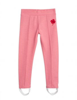 Mini Rodini Clover emb Skipants Pink