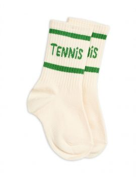 Mini Rodini Tennis Socks Offwhite