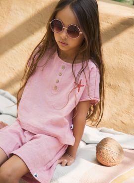 Ammehoela Short Esmee Granny-Pink