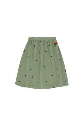 Tiny Cottons Dots Sunset Long Skirt Green wood/bottle green
