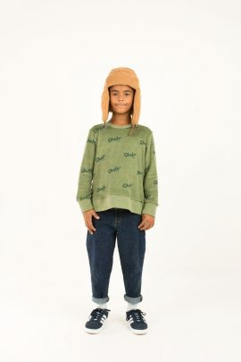 Tiny Cottons Chido Sweatshirt green wood/bottle green