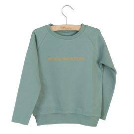 Little Hedonist Sweater Caecilia Chinois Green