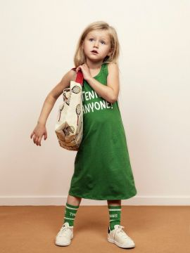 Mini Rodini Tennis Socks Green