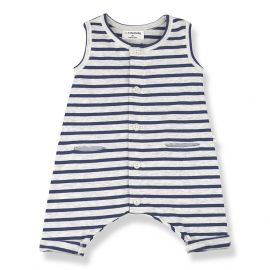 1+ in the family Monaco romper Azzurro
