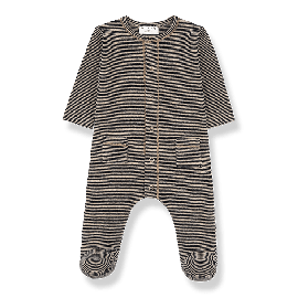 1+ in the family Mons Jumpsuit black/beige