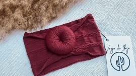 Vega Basics Haarband Paloma Burgundy