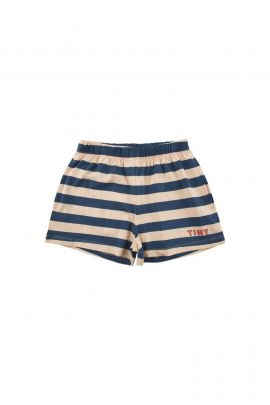 Tiny Cottons Stripes Short cappuccino/light navy