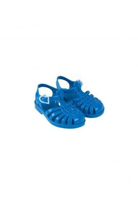 Tiny Cottons Jelly Sandals Cerulean Blue