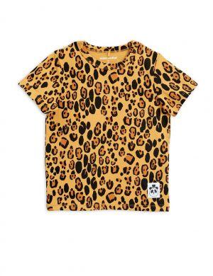 Mini Rodini Basic Leopard SS tee