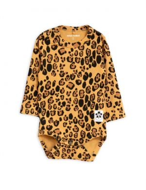 Mini Rodini Basic Leopard ls body