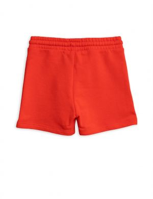 Banana sweatshorts red