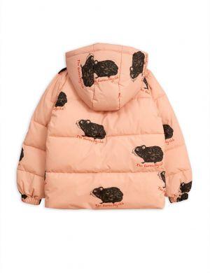 Mini Rodini Guinea Pig Puffer Jacket Pink
