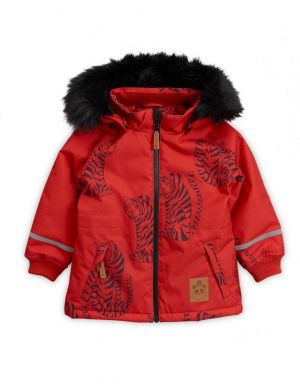 Mini Rodini Tiger K2 Parka Red