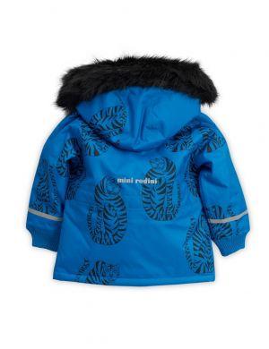 Mini Rodini Tiger Parka blue