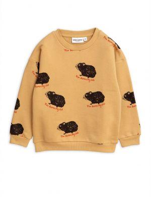 Mini Rodini Guinea Pig Sweatshirt Beige