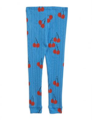 Mini Rodini Cherry Legging Blue