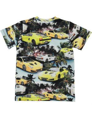 Molo Ralphie T-shirt aop Fast Cars