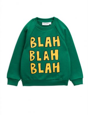 Mini Rodini Blah Blah Sweatshirt Green