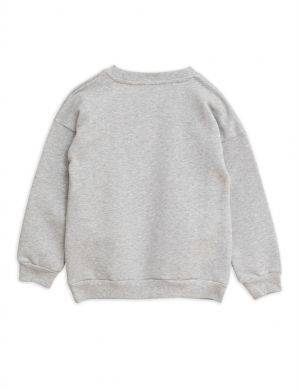 Mini Rodini Ritzratz sweatshirt grey melange