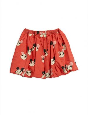 Mini Rodini Ritzratz balloon skirt red