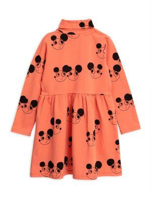 Mini Rodini Ritzratz turtleneck dress red