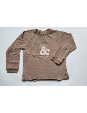 Tocoto Vintage & The Family Longsleeve Beige