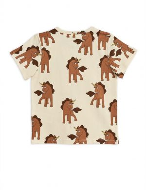 Mini Rodini Unicorns aop ss Tee