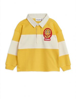 Mini Rodini Rugby Shirt Yellow