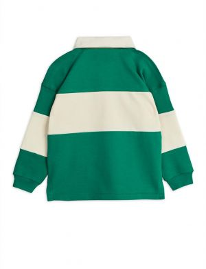 Mini Rodini Rugby Shirt Green