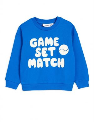 Mini Rodini Game Sweatshirt Blue