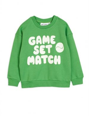 Mini Rodini Game Sweatshirt Green