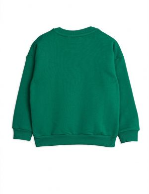 Mini Rodini Badge sp Sweatshirt Green