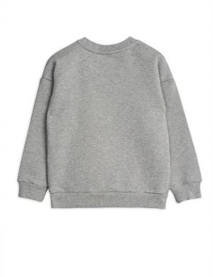 Mini Rodini Badge sp Sweatshirt Grey