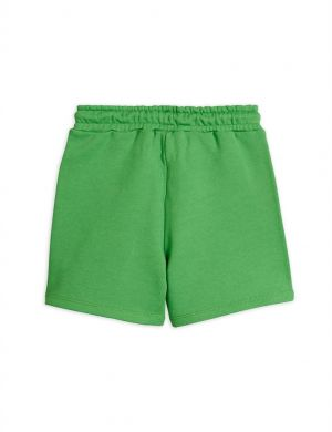 Mini Rodini Game Sweatshorts Green