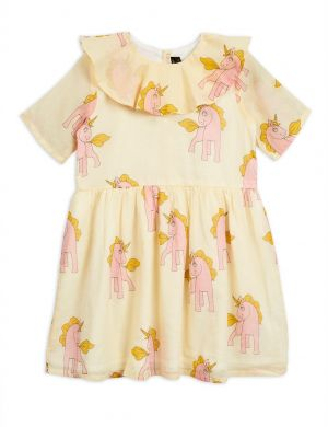 Mini Rodini Unicorns Woven Dress