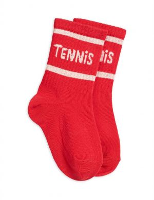 Mini Rodini Tennis Socks Red
