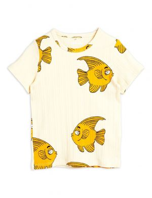 Mini Rodini Fish SS Tee