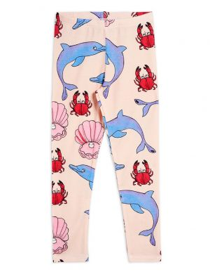 Mini Rodini Dolphin Leggings Tencel