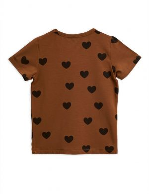 Mini Rodini Hearts SS Tee Tencel