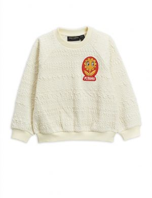 Mini Rodini Flower Patch Sweatshirt Offwhite