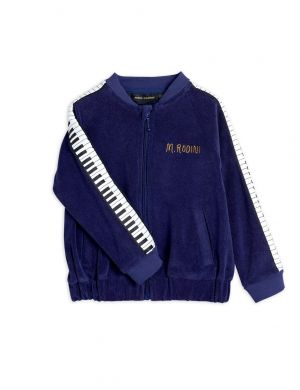Mini Rodini Piano Terry Jacket