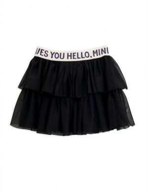 Mini Rodini Tulle Skirt Black