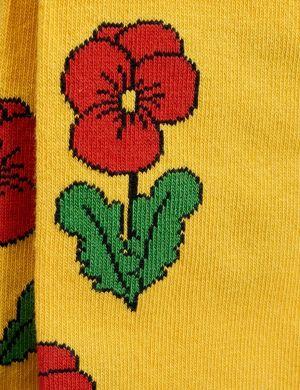 Mini Rodini Violas Tights Yellow
