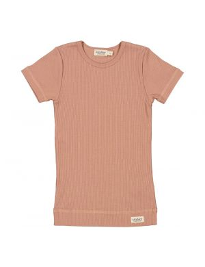 MarMar Cph Plain Tee SS Rose Brown